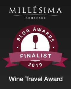 2019 Millésima Blog Awards Finalist--Wine Travel Award